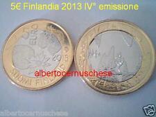 5 euro 2013 fdc FINLANDIA Finland FINLANDE Finnland Kesa Summer natura nordica