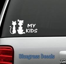 A1006 DOG CAT DECAL STICKER for Car Truck SUV Van LAPTOP PET SHELTER RESCUE WALL