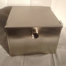 Grease Traps, Commercial Stainless steel, 9 Kilo & Waste Filter Kitchen Fat Trap