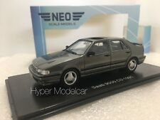 NEO SCALE MODELS 1/43 Saab 9000 Cs Grey Met.1991 Art. NEO43669