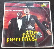 DANNY KAYE/LOUIS ARMSTRONG The Five Pennies LP ORIG FLIPBACK