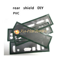 Motherboard I/O Shield without any opening  DIY Blank Backplate New PVC material