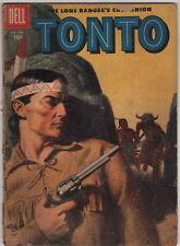 Dick Giordano Collection Personal Copy Lone Ranger's Companion Tonto #25 1957
