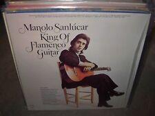 MANOLO SANLUCAR king of flamenco guitar ( world music ) spain