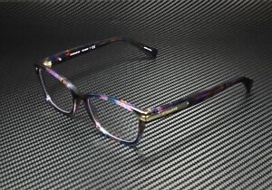 COACH HC6065 5288 Confetti Purple Demo Lens 51 mm Women's Eyeglasses