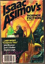1978 Isaac Asimov Science Fiction: Short stories, Novelettes, Puzzle, Magazine