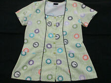 New listing Baby Phat Scrub Top~Lime Green~Small