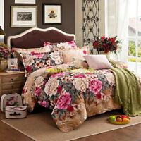 Single/Double/Queen/King Bed Quilt/Doona/Duvet Cover Set Cotton 100% Giraffe