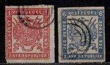 $Transvaal Sc#11-12 used, fine, complete set, Cv. $510