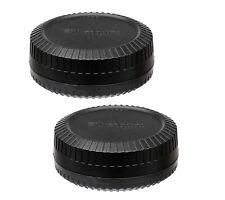 (2 Packs) Lens Rear Caps & Body Caps Fuji Fujifilm X-Pro2 X-E2 X-E3 X-A3 X-A7