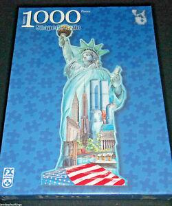 Statue Of Liberty Shaped Puzzle FX Schmid 1000 Pcs NEW Sealed
