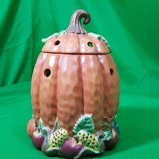 Yankee Candle Ceramic Tart Warmer Autumn Fall Halloween Pumpkin New Thanksgiving