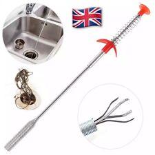 Heavy Duty Drain UNBLOCKER Tool Dredger Waste Hair Grabbers for LARGER PLUG HOLE