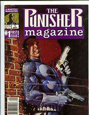 MARVEL MAGAZINE THE PUNISHER MAGAZINE #1 FIRST ISSUE! (VF) 1989