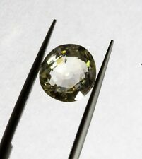 1.71 Ct Top Fancy Yellow Color Ceylon No Heat Natural Sapphire Round Mix Cut AA+