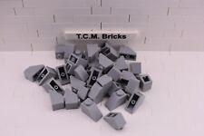TCM Compatible Bricks Light Bluish Gray Slope 45 2 x 1 - QTY: 100 pieces