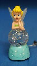 Tinker Bell Light-up Sparkling Mini Snowglobe Disney Figurine 18557 Peter Pan