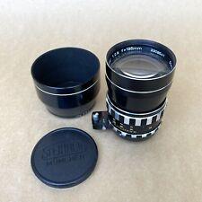 Steinheil Munchen Auto-D-Tele-Quinar 135mm 1:2.8 Vintage Lens For Exakta Mount
