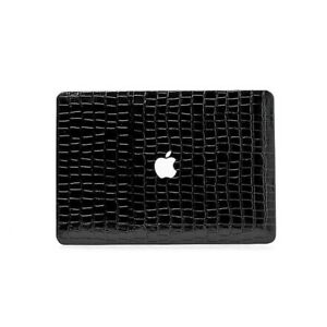 """Case Cover for Macbook Pro/Air 11""""/13""""-Luxury Authentic Black Crocodile Pattern"""