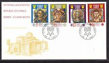 Cyprus 1991 Mosaics First Day Cover