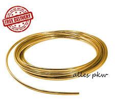 GOLD ZIERLEISTE SCHUTZ STREIFEN SELBSTKLEBEND 5m x 8mm