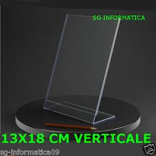 13 X 18 VERTICALE CORNICE PORTAFOTO PORTA FOTO 13 * 18 CM PLEXIGLASS ARTISTICO