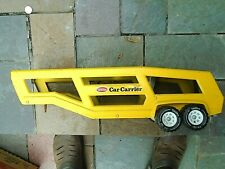 1970's TONKA  CAR CARRIER  pressed steel  Trailer only