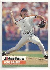 1993 Jimmy Dean Superstars - #19 - Doug Drabek - Houston Astros