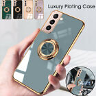 Phone Case for Samsung S20 FE S21 Ultra A22 Magnetic Shockproof Ring Stand Cover