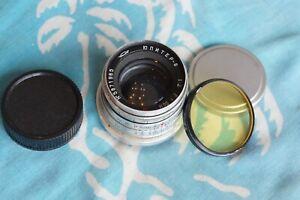 JUPITER-8 50mm f2 lens M39 LTM Leica Zorki Sonnar Micro 4/3 EARLY!!!!