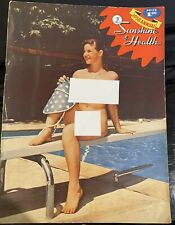 Sunshine & Health Naturist Magazine 1958 Annual