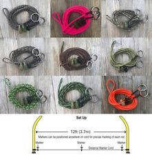 Paracord '12ft Distance Sticks Marker Cord' 3 Grenade Markers 'Carping Cordage'