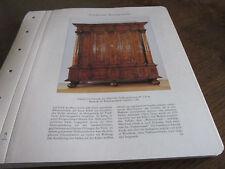 Frankfurt Archiv 8 Kunstgewerbe 5014 Frankfurter Schrank 1690/1700