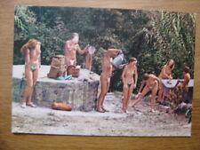 carte postale Postcard TOILETTE MATINALE NATURISME FKK AKT nu artistique