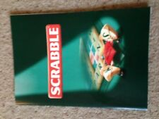 Scrabble Game. Instructions Booklet. Genuine Mattel Part.