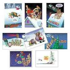 Assorted Funny Christmas Cards - 24 Boxed Christmas Cards and Envelopes - 99