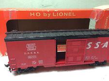 LIONEL HO SCALE 0864-325 DSS & A BOXCAR w/ ORIGINAL BOX