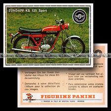 #pnsm75.184 ★ ZÜNDAPP KS 125 SPORT ★ Motorcycle Panini Super Moto 75