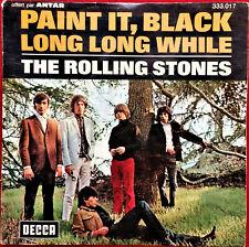 """45 TOURS SP 7"""". THE ROLLING STONES.PAINT IT BLACK.1972"""