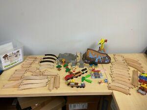 Pre owned KidKraft Bucket Top Construction Train Set