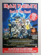 Iron Maiden - Best Of The Beast  - Poster / Advert  - 33.5cm x 24.2cm