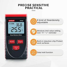 Digital Wood Moisture Meter Pinless For Drywall Firewood Paper
