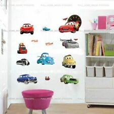 Boys Bedroom Disney Cars Wall Stickers Baby Nursery Decal Self Adhesive Sticker