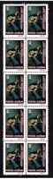 VAN MORRISON ROCK ICONS STRIP OF 10 MINT VIGNETTE STAMPS 3