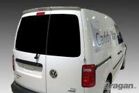 To Fit 2015 + Volkswagen VW Caddy Facelift Rear Roof Spoiler PU Barn Doors Van