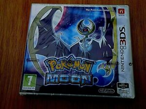 POKERMON MOON BRAND NEW 3DS GAME FACTORY SEALED FREE POSTAGE