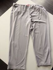 Mona Lisa ladies  light grey elasticated 3/4 length trousers size 24