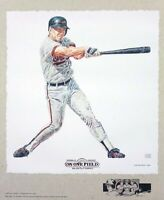 Cal Ripken Jr. Baltimore Orioles Lithograph By Michael Mellett