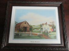 Breezy Meadow Picture Artist: Kay Lamb Shannon 10 X12 Brown Detailed Frame