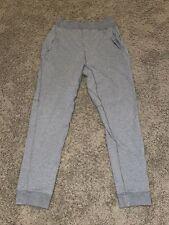 Lululemon Mens City Sweat Jogger Pants Heathered Gray Cotton Blend Size Small